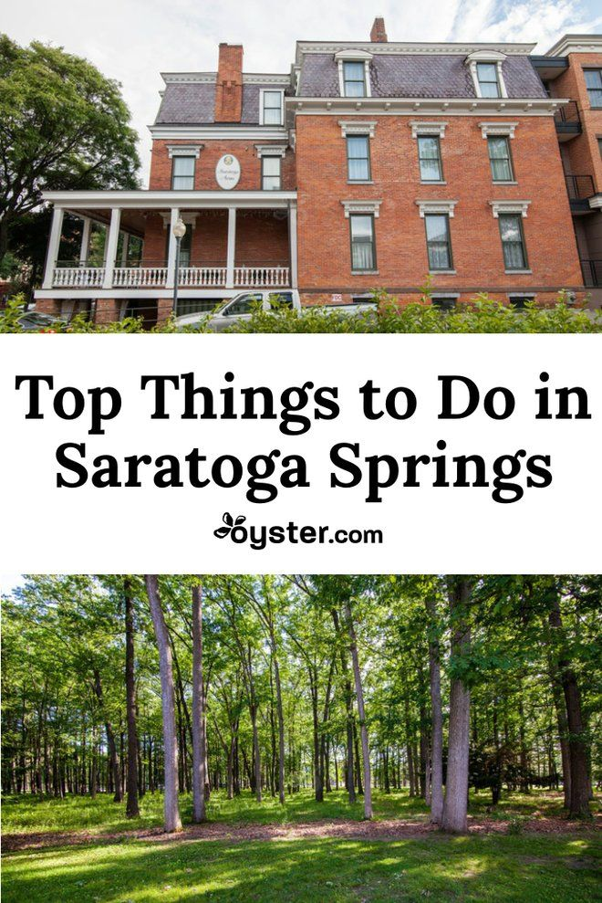 Picture-perfect Saratoga Springs -- about halfway between Albany and Lake George -- is an upstate destination whose storybook star shines especially bright. The area's famous mineral springs have been luring wellness-seekers for centuries and the Saratoga Race Course has attracted horse-racing enthusiasts since the Civil War. Here are some of our favorite things to do in Saratoga Springs.