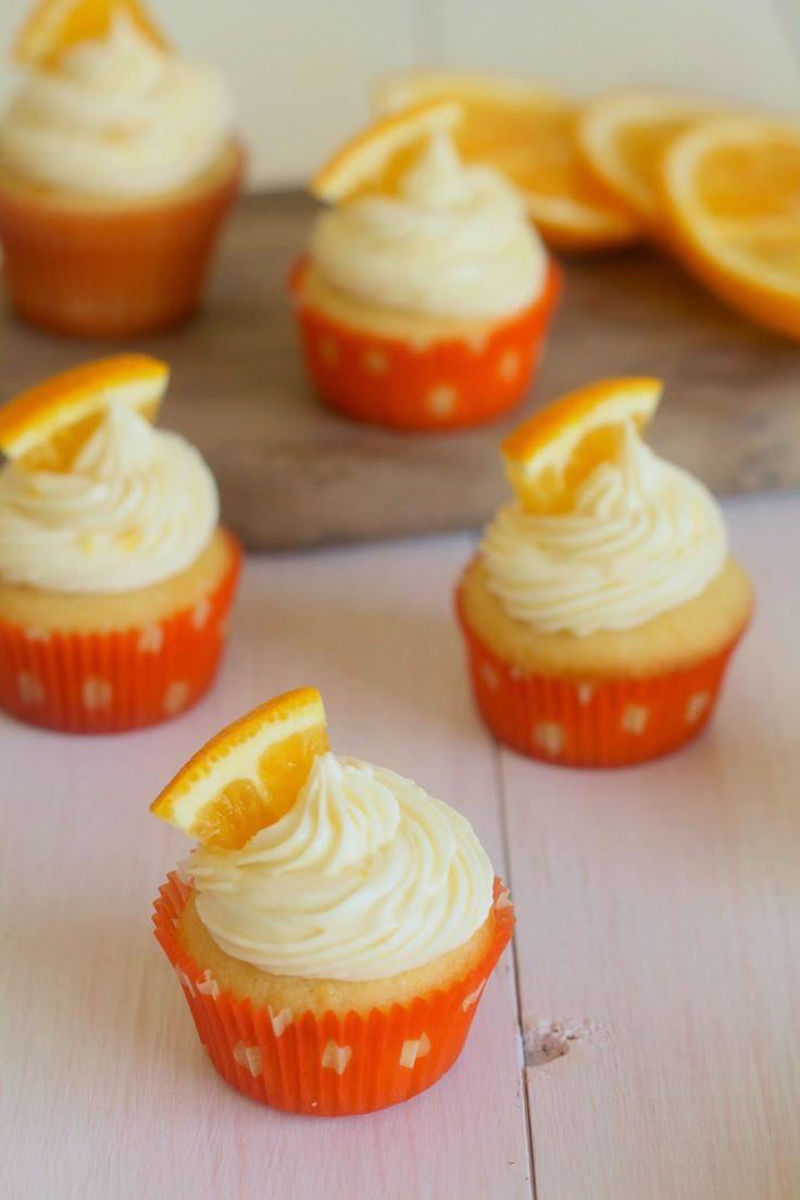 Mini Orange Creamsicle Cupcakes | Le Petit Chef