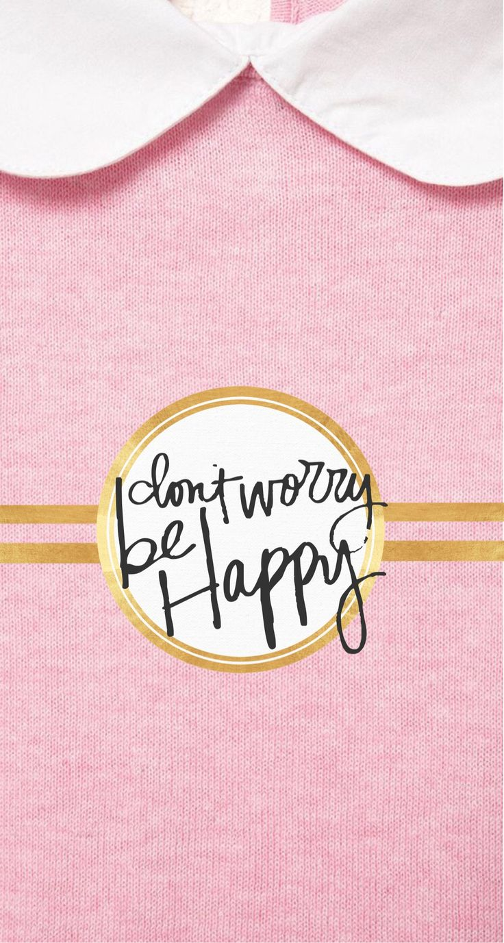 Don't worry be happy ★ Find more Super Cute wallpapers for your #iPhone…