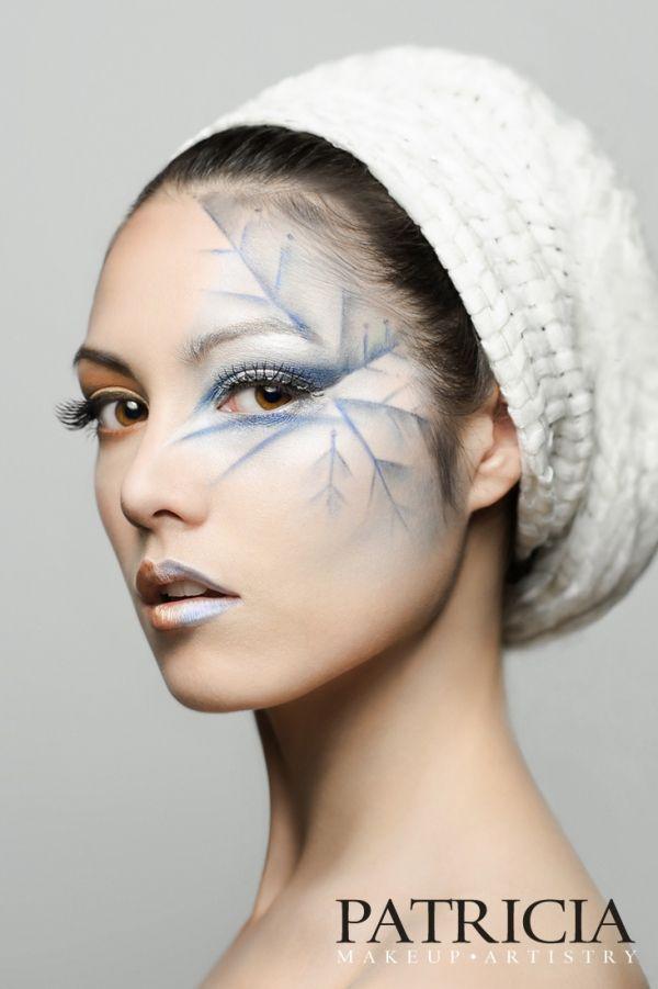 fantasy makeup Character Idea: Done like a skeleton leaf?