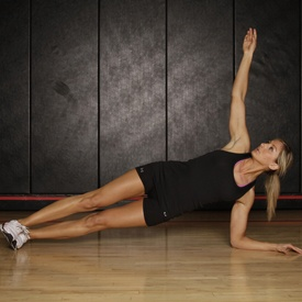 plank with twist. kicks my... abs!: Side Plank