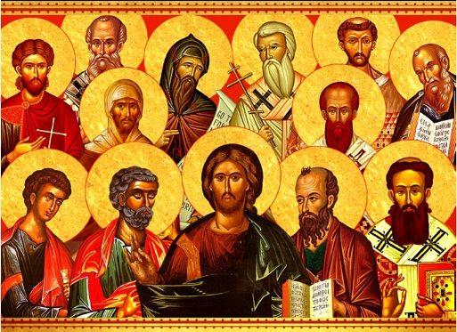 Bagaimana terjadinya Tradisi Apostolik?  Tradisi Apostolik terjadi dalam dua cara: melalui pewarisan langsung Sabda Allah (yang disebut sebagai Tradisi) dan melalui Kitab Suci yang merupakan pewartaan keselamatan yang sama dalam bentuk tulisan.