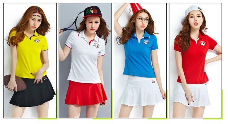 Summer sportswear, women tennis clothes suit, Student Badminton clothing,Sportswear & Accessories