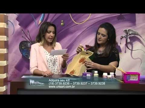 Mulher.com 08/11/2013 - Bandeja de Craquelê - Marisa Magalhães (Bloco 2/2)
