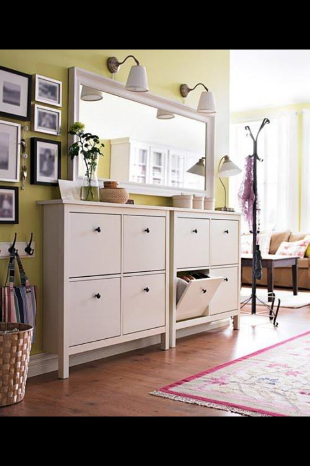 ... Hall Table With Shoe Storage