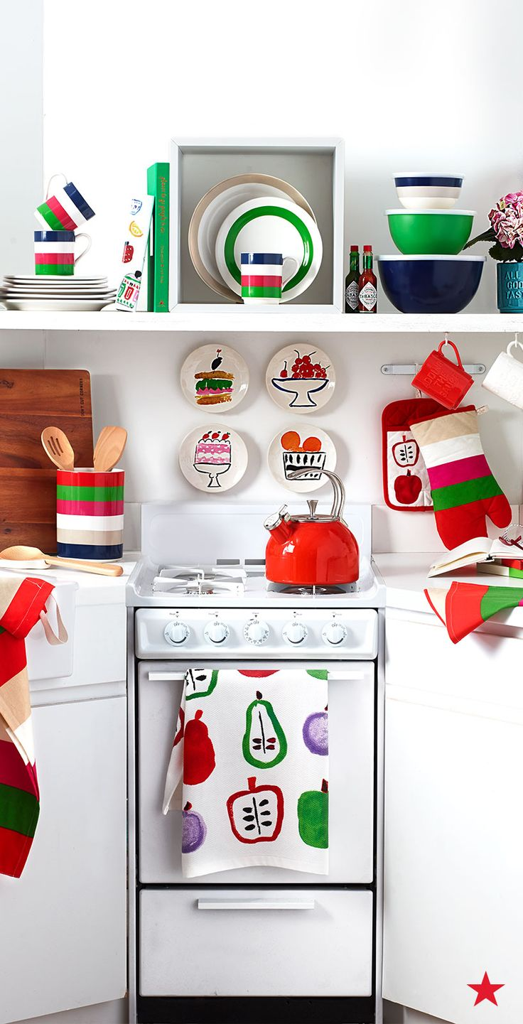 A Colorful Kitchen Is A Happy Kitchen Treat Yourself To