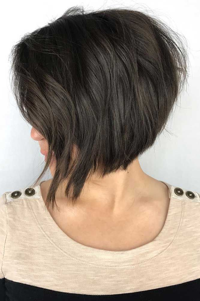 Several Ways Of Pulling Off An Inverted Bob Hair Pinterest