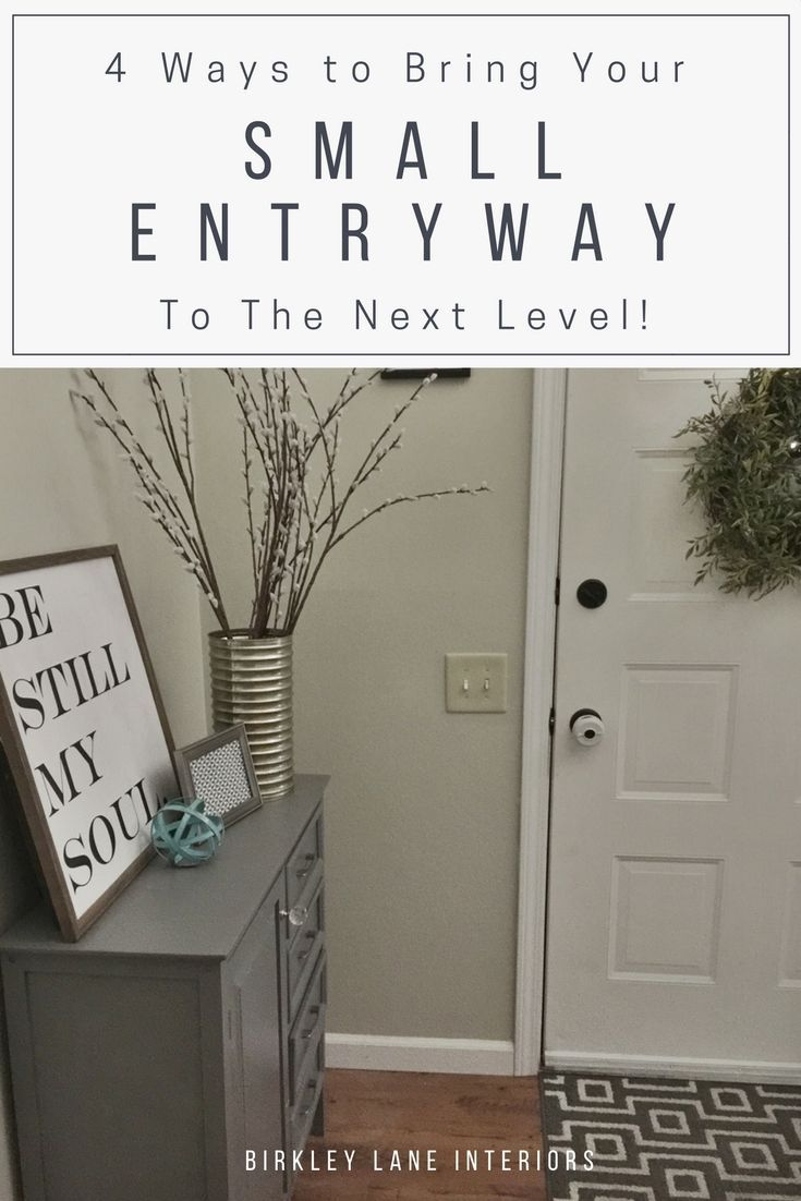How To Decorate A Small Entryway Home Decor Accents Entryway