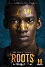 "Roots - An adaptation of Alex Haley's ""Roots"", chronicling the history of an African man sold to slavery in America, and his descendants."