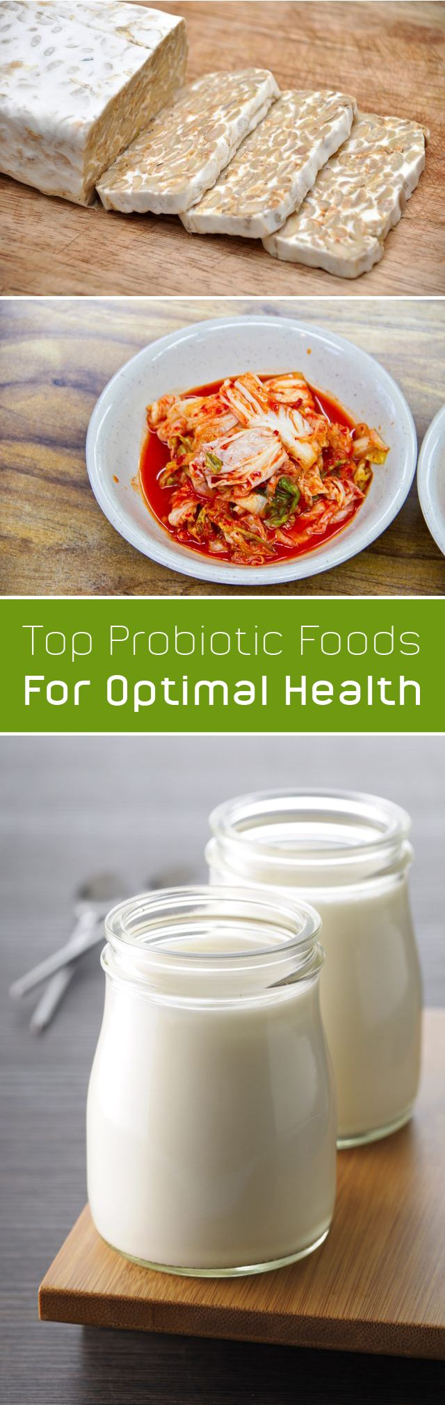 Probiotics populate your digestive tract and offer a ton of health benefits! Probiotics are great for keeping your digestive tract healthy, from preventing food-borne illness to lowering your risk of certain digestive conditions, like IBS. They might even help reduce inflammation and lower the risk of obesity. More info here: http://www.ehow.com/how_2067748_eat-probiotics-health.html?utm_source=pinterest.com&utm_medium=referral&utm_content=freestyle&utm_campaign=fanpage
