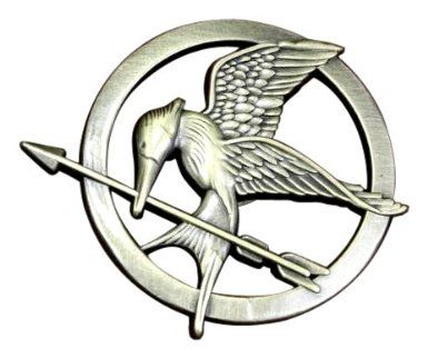 The Hunger Games Movie Mockingjay Prop Rep Pin: Amazon.co.uk: Toys & Games