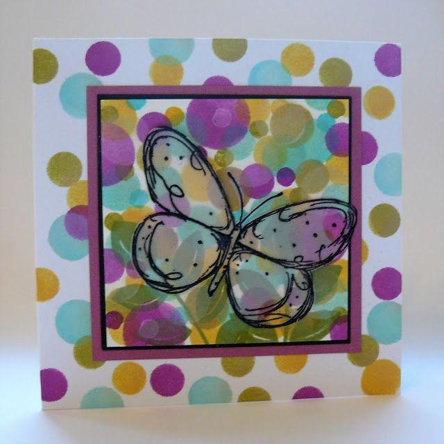 Regina's artfun: Bokeh Butterfly