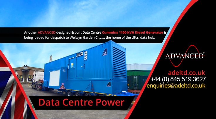 Data Centre Power…  Another ADVANCED designed & built Data Centre #Cummins 1100 kVA Diesel Generator is being loaded for dispatch to Welwyn Garden City…. the home of the UK's data hub.  Advanced Diesel Engineering - A Single Source #Solution Under One Roof!   Visit: adeltd.co.uk for more information on #DieselGenerators, Acoustic Enclosures, fuel tanks, modular #Switchgear housings, UPS modular buildings + much more.  Email: enquiries@adeltd.co.uk  Telephone: +44 (0)845 519 3627  Website…