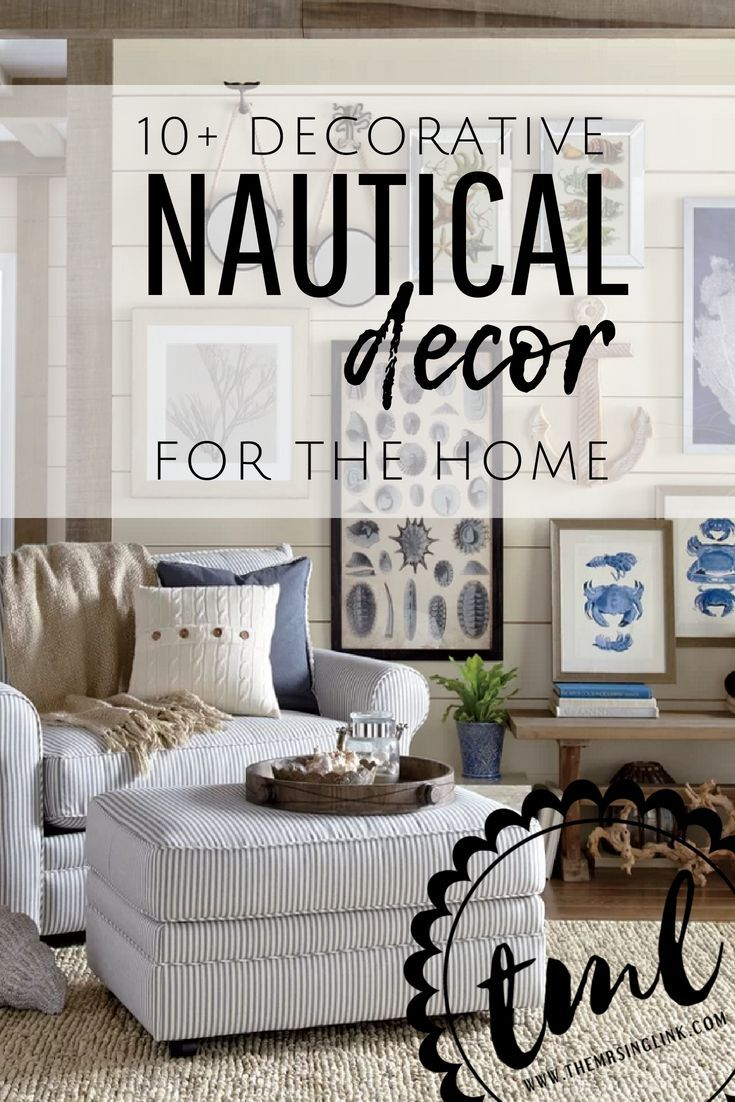 10 Decorative Nautical Home Accents Inexpensive Home Decor