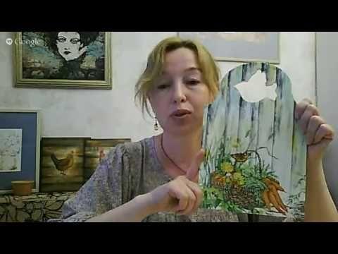 "#Раушания Нуретдинова МК ""Имитация дерева..."" Ручная работа - YouTube"
