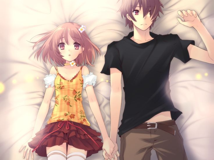 Cute Anime Couples Holding Hands