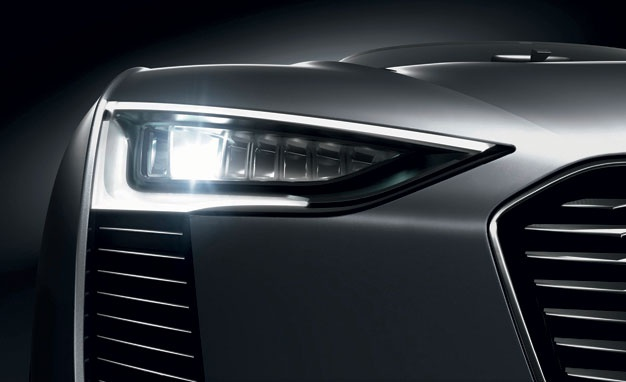 snazzy - Audi always leads with headlamp design (no pun intended)