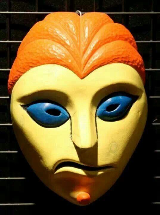 UOMO VENUSIANO (maschera in legno di cirmolo)
