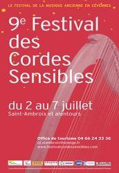 Festival des Cordes Sensibles, Saint-Ambroix et alentours, Languedoc-Roussillon