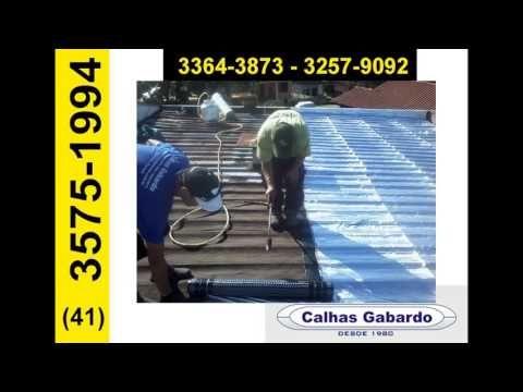 Reforma de Telhados e Calhas em Curitiba +41-3257-9092 Rekint Curitiba PR