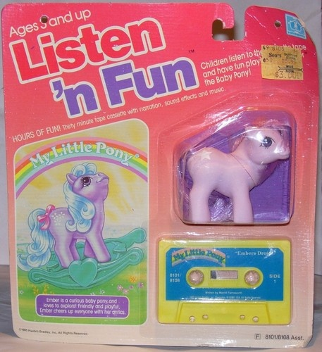 My Little Pony G1 Year 4 Baby Ember (Star) MOC (Mint on Card)