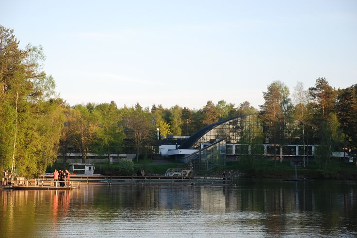 #Imatra#Finland, swimming in summer and in winter too. By Maija S.