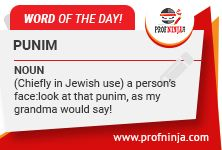 #‎wordoftheday‬ ‪#‎English‬ ‪#‎dictionary‬ ‪#‎vocabulary‬ ‪#‎word‬ ‪#‎profninja