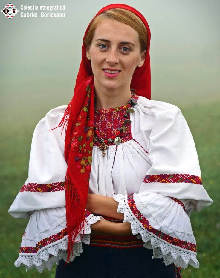 Romanian blouse - Lapus region. Gabriel Boriceanu collection