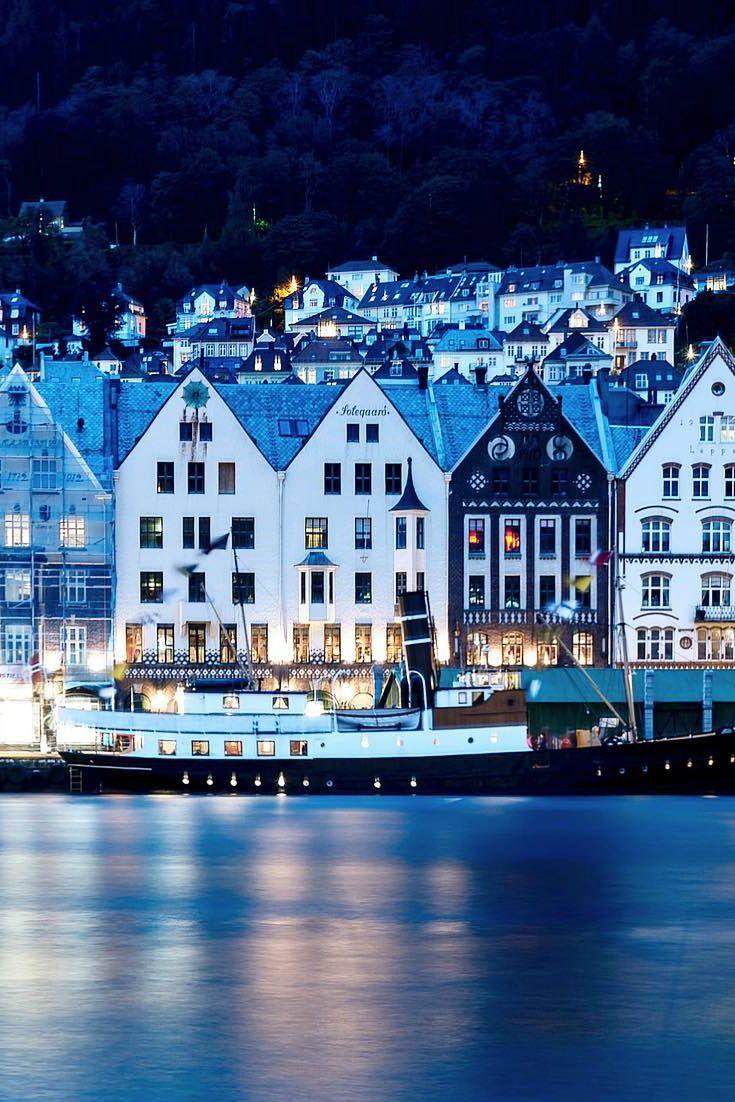 Bergen, el corazón multicolor de los Fiordos Noruegos. #Norway #Noruega #Fiordos
