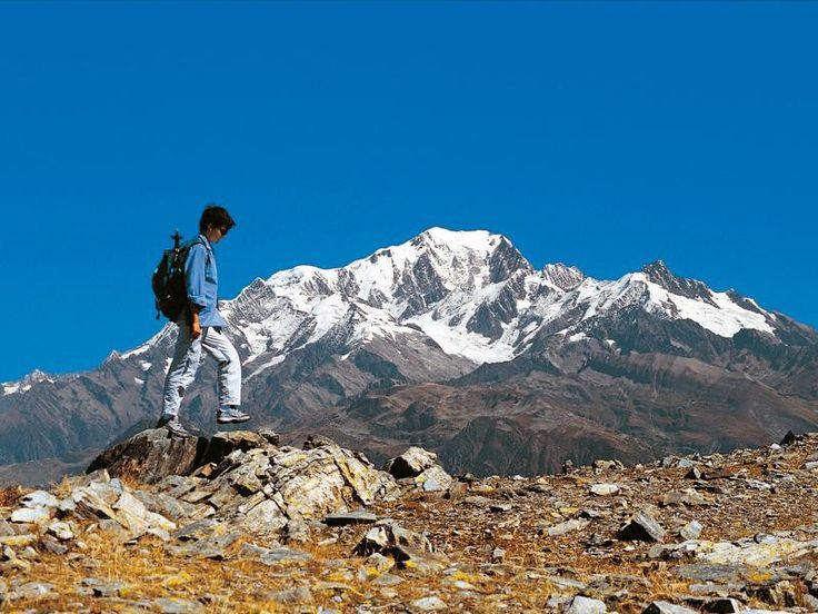 Le tour du mont Blanc en liberté s'effectue en 6 jours de randonnée