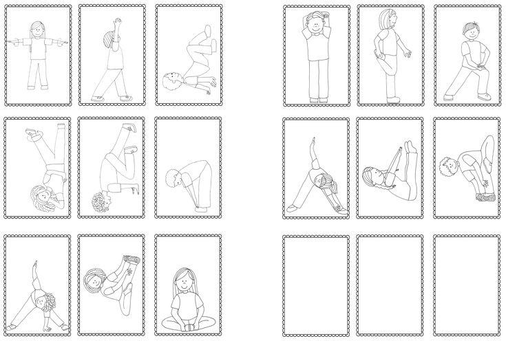 Játékok a mozgásos figyelem fejlesztéséhez - töltsd le a kártyákat, indulhat a móka. :) A nyári jó időben akár a kertben…