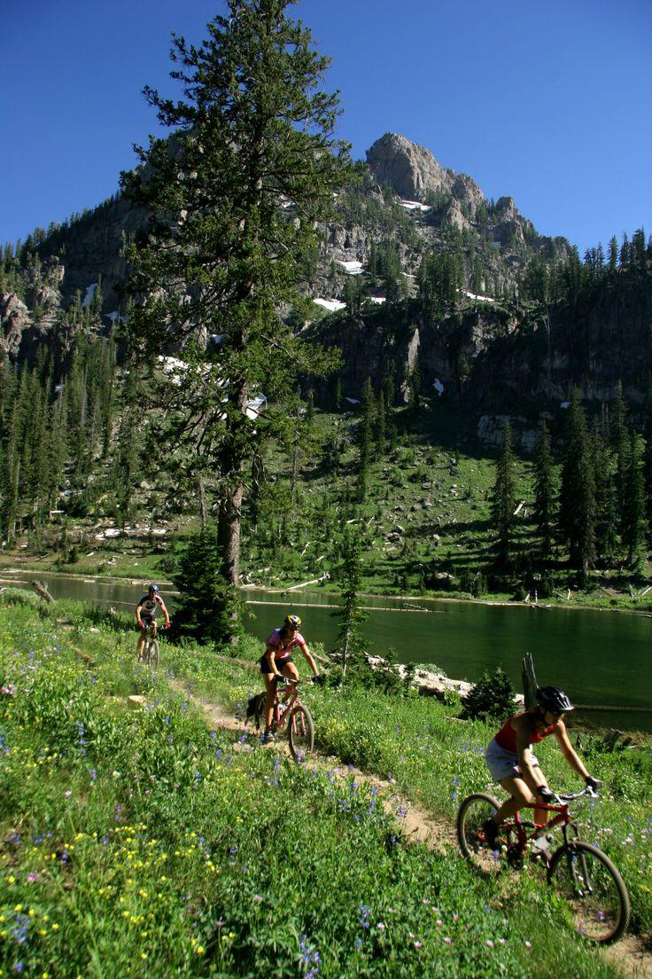 Biking White Pine Lake in Utah. Photo: Monique Beeley. #LifeElevated