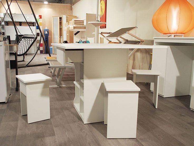 Buffet – Table Cubeka – Gain de place