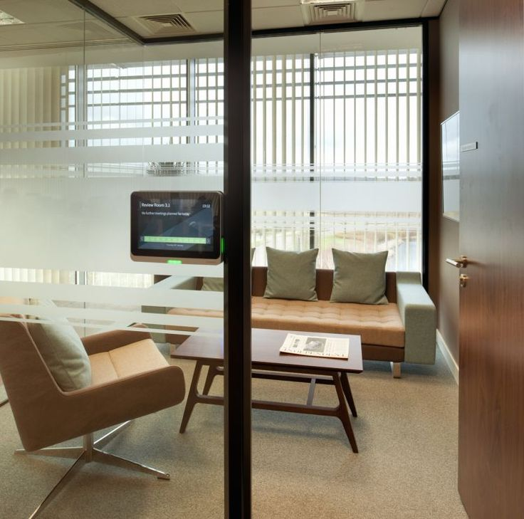 Electronic meeting room booking system at Amey