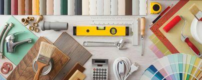 DIY and home renovation Stock Image