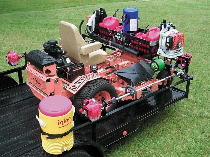 Jungle jim trm pro trailer mate pro commercial lawn for Garden design equipment