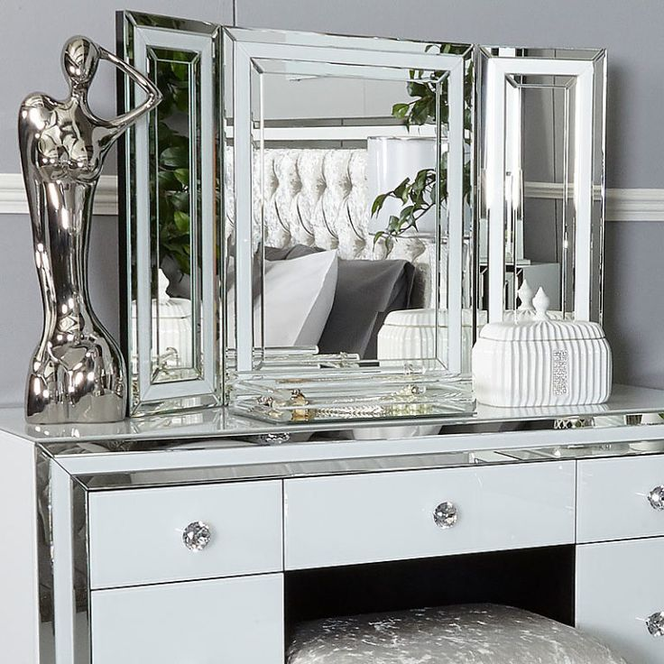 Florence Mirrored Dressing Table Dressing mirror