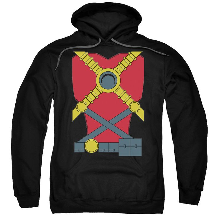 JLA/Red Robin Adult Pull-Over Hoodie in
