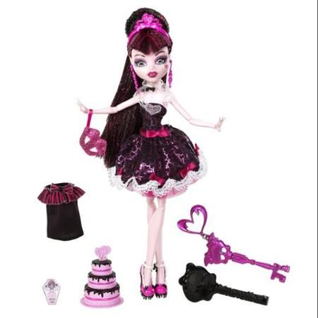 Monster High Sweet 1600 Draculaura Doll Multi-Colored