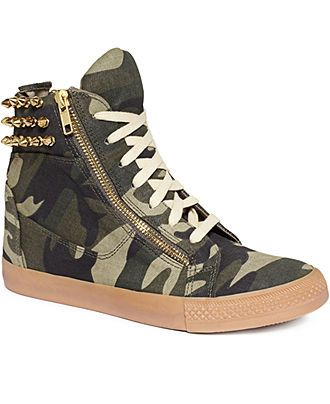 Betsey Johnson High Top Sneakers