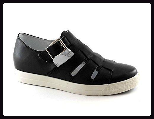IGI & CO schwarze Frauen Sandale Schuhe 77890 Lederschnalle ausgeschnitten 41 - Sneakers für frauen (*Partner-Link)