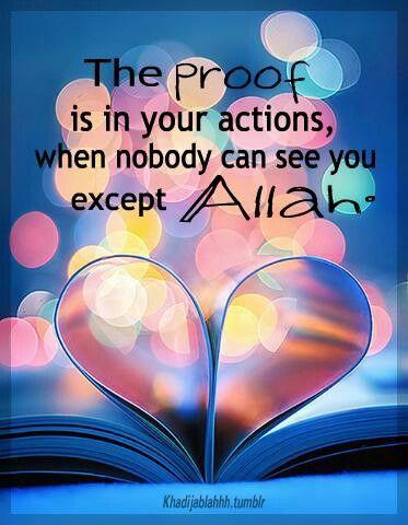 I love Allah