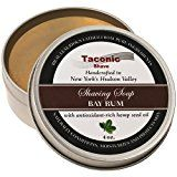 Taconic Shave Barbershop Quality Bay Rum Shaving Soap with Antioxidant-Rich Hemp Seed Oil Reviews