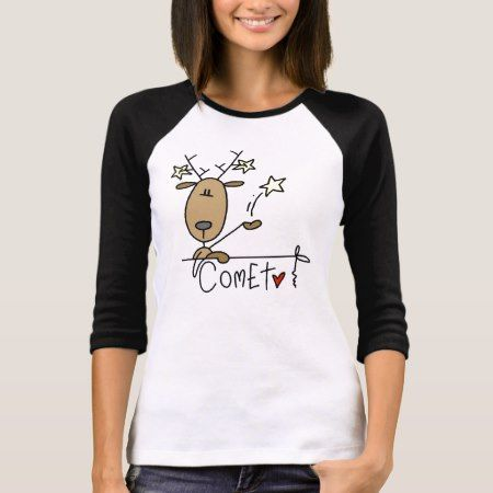 Comet Reindeer Christmas Tshirts and Gifts - tap to personalize and get yours