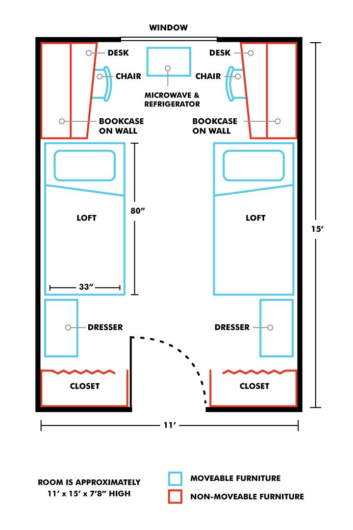 Dorm Room Layouts: Image Result For Double Dorm Room Layout