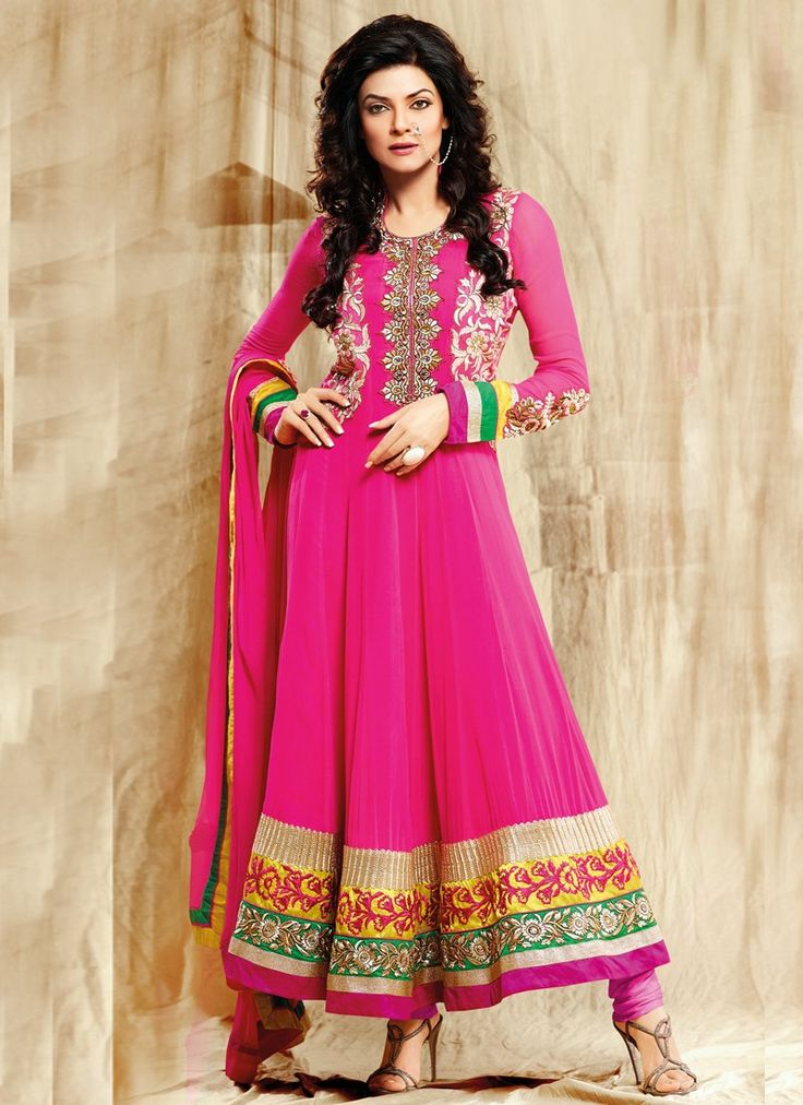Floral Patch Sushmita Sen #Salwar Kameez
