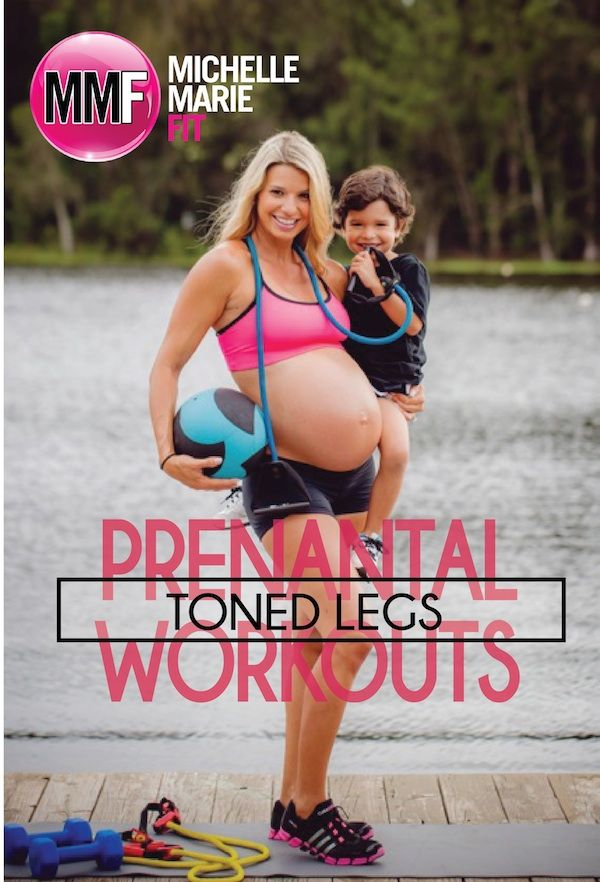 Prenatal Workouts Toned Legs. #Pregnancy Workout to keep the hips and butt lean and tight during pregnancy http://www.michellemariefit.com/prenatal-workout-for-toned-legs