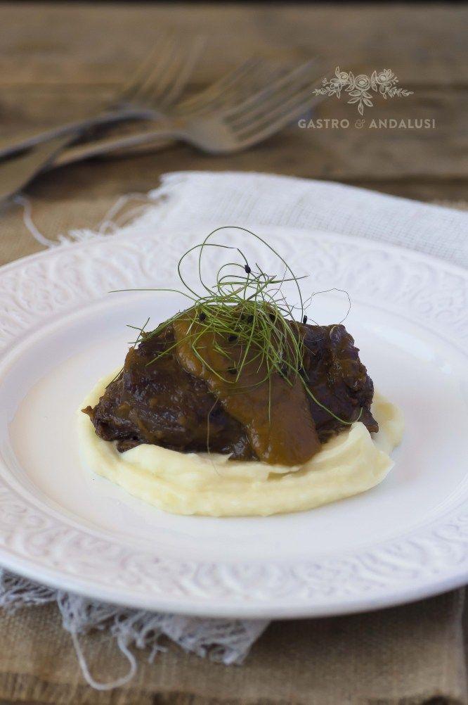 Carrilleras ibéricas con salsa de Oporto, Carrilleras de cerdo, recetas impresionantes, recetas para sorprender, recetas para triunfar,recetas ilustradas