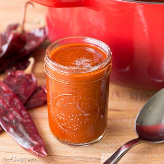 Guajillo Chili Red Enchilada Sauce   That Oven Feelin'