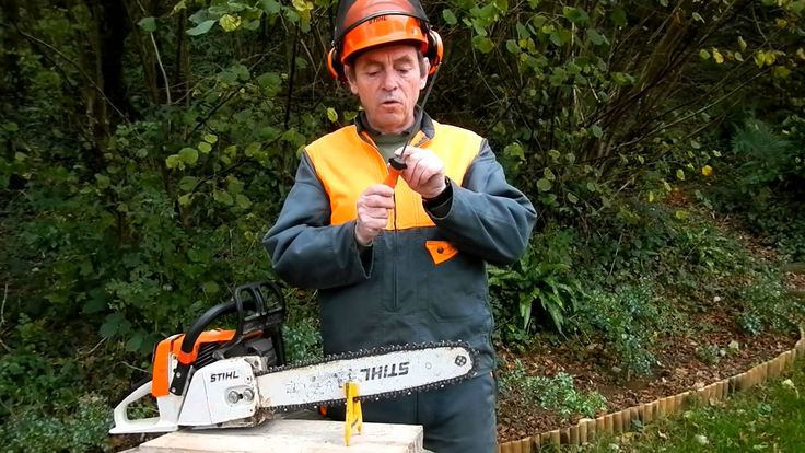 8 best natural resources technology images on pinterest - Comment affuter une chaine de tronconneuse ...
